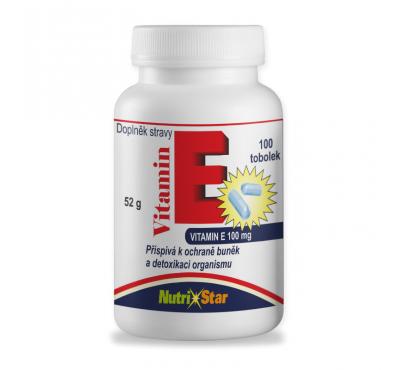 Vitamín E 100 cps.